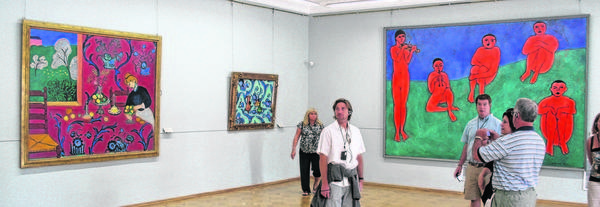 The Matisse gallery in the Hermitage, St. Petersburg, Russia.