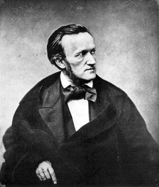 Photograph of composer Richard Wagner, Paris, 1861 (catalog number 007); this was taken when Wagner was in France for the premiere of Tannhauser.[1] A 1901 letter from Fillon to Mrs Burrell affirms the photo as a 1861 work.