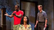 "In Act 1 of ""Clybourne Park,"" the Pulitzer Prize- and Tony Award-winning play by Bruce Norris receiving a potent Baltimore premiere at Center Stage, civility breaks down as white and black characters in a modest Chicago house start talking about the one thing they'd all rather avoid — race."