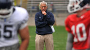 UConn coach Paul Pasqualoni was interested in fundamentally sound, basic football Saturday at Rentschler Field, nothing flashy, risky or complicated.