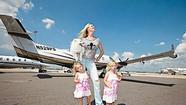 """The Queen of Versailles"" brought new fame to time-share king David Siegel and his wife, Jackie. Their celebrity is likely to increase when the 2012 documentary has its television premiere at 9 p.m. April 29 on Bravo."