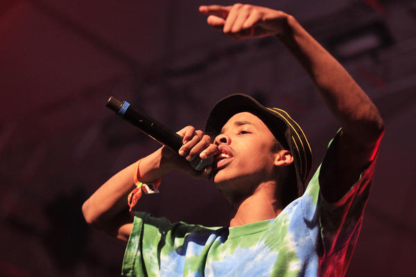 Earl Sweatshirt performs at the 14th Coachella Music & Arts Festival.