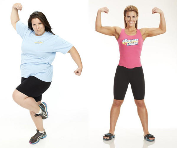 "Wheeling resident Dannielle ""Danni"" Allen before and after she won Season 14 of ""The Biggest Loser."""