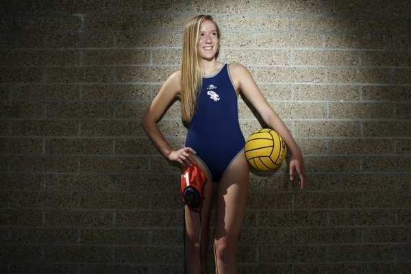 Crescenta Valley High's Gabriel Isacson is the All-Area Girls' Water Polo Player of the Year.