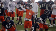 The Bears wrapped up their first minicamp of 2013 last week under new coach Marc Trestman. And while it is tough to evaluate and breakdown the pro game in shorts and helmets, here are five observations I took from the up-tempo practice sessions at Halas Hall.