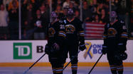 Bruins, Penguins Pay Tribute To Bombing Victims