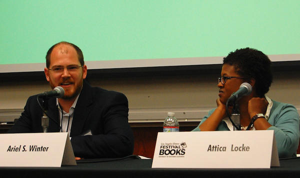 Authors Ariel S. Winter and Attica Locke discuss the crime fiction genre at the L.A. Times Festival of Books.