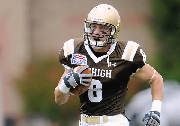 Lehigh football player Ryan Spadola is ready for the NFL Draft.