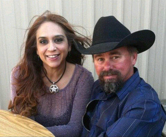 This 2012 photo provided by the Uptmor family shows Buck Uptmor and his wife, Arcey.