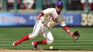 PHILADELPHIA — When Freddy Galvis got word last spring that the Phillies needed him to become the team's everyday second baseman on what was practically a moment's notice, he didn't complain.