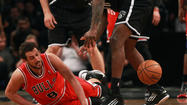 NEW YORK — If the Bulls are going to win their best-of-seven, first-round series against the Nets, they're going to have to follow the lead of Joakim Noah.