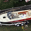 Boat Where Bombing Suspect Was Found Hiding