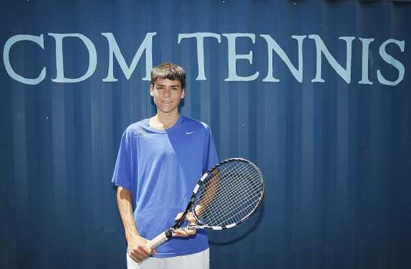 Corona del Mar High boys' tennis player Alec Adamson is the Daily Pilot High School Athlete of the Week.