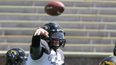 Missouri Tigers: quarterback job up for grabs after spring drills at Mizzou