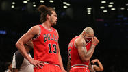 NEW YORK — All the Bulls need to remember about Saturday night's embarrassing 106-89 playoff-opening loss to the Nets at the Barclays Center happened in the first six minutes. Make that the first 6 minutes 25 seconds because Bulls fans meticulously track minutes like parents of teenagers with smart phones.