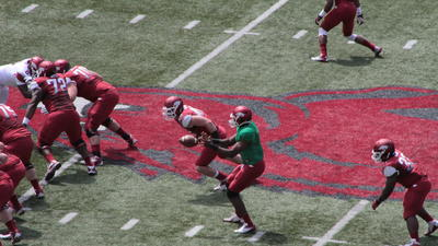 Pictures: Arkansas Razorbacks spring football game