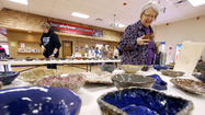 More than 350 bowls were placed on rows of tables in the Yelduz Shrine Center on Saturday, each one a reminder that hunger is still an issue for many people in Aberdeen.