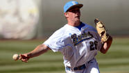 UCLA baseball Coach John Savage is known for his ability to develop top pitchers, and his staff is having quite a Pac-12 Conference series in Eugene, Ore., this weekend.