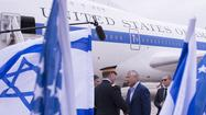 JERUSALEM -- Defense Secretary Chuck Hagel arrived in Israel on Sunday to begin a weeklong tour of the Middle East as the region grapples with the worsening civil war in Syria and the stubborn nuclear threat from Iran.