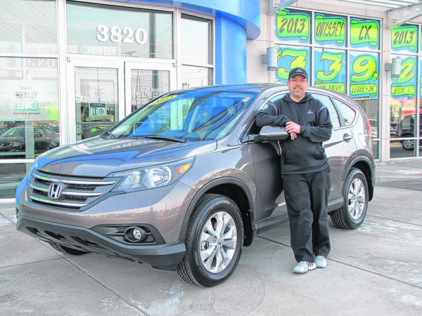 The 2013 Honda CR-V has won accolades for everything from safety to resale value, said Tony McCraner, a sales consultant for Basney Honda in Mishawaka.