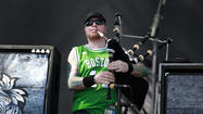 "After cameras zoomed in on the Boston flag, Celtic punk band the Dropkick Murphys launched into ""For Boston,"" the band's rowdy, over-before-you-know-it cover of the Boston College fight song. Playing this show at the Coachella Valley Music and Arts Festival, said founder Ken Casey, is part of the healing process,"