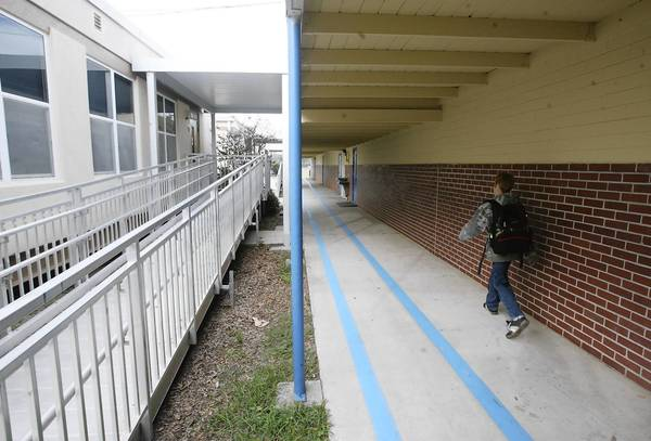 Lake County Schools will be spending $14 million of this year's budget to pay for a new campus for Eustis Heights Elementary School. The school, which is more than 50 years old, lacks appropriate class space and doesn't have appropriate restrooms for staff. (Tom Benitez/Orlando Sentinel)