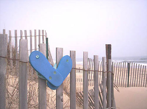 Virginia beaches - Flip-flops
