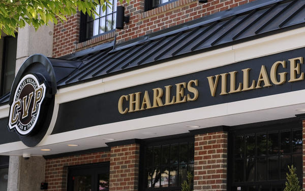 Charles Village Pub and Patio restaurant on Pennsylvania Avenue, Towson.