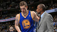 DENVER -- Golden State forward David Lee will miss the remainder of the NBA playoffs with a torn right hip flexor, the team announced  Sunday after an MRI revealed the severity of the injury.