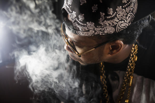 2 Chainz is seen after his performance on Day 2 of the second week of the Coachella Valley Music and Arts Festival.