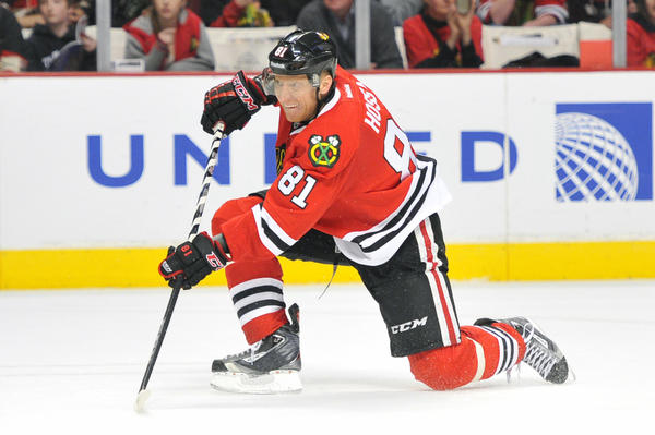 Hawks winger Marian Hossa will likely have his minutes reduced in the last few games of the regular season.