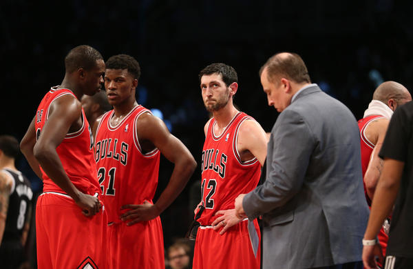 The group the Bulls have, aches, pains and all, is the group the Bulls are going to have to count on.