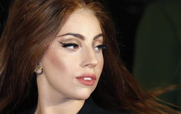 "Lady Gaga arrives for the UK launch of her new fragrance ""Fame"" outside Harrods in London October 7, 2012."