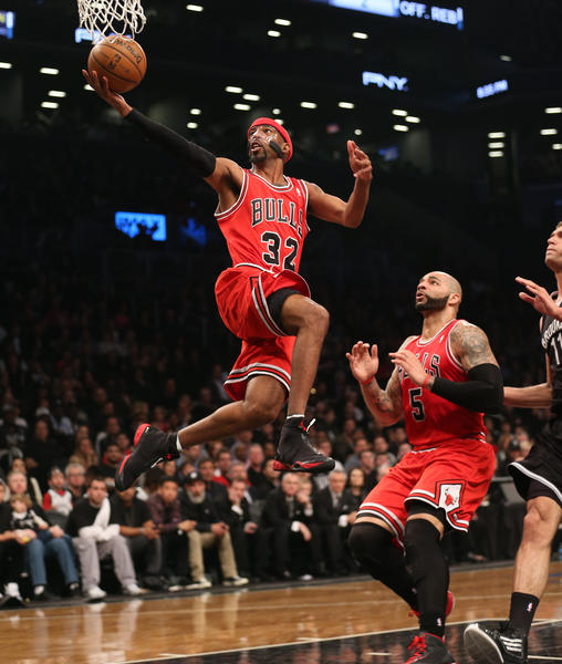 Richard Hamilton may have his role lessened as the series against the Nets goes forward.