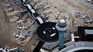 Delays may average 50 minutes per flight at <b>O'Hare International Airport</b> this week because of fewer air traffic controllers in the tower until the federal budget sequestration is resolved, according to the <b>Federal Aviation Administration</b>.