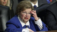 In addition to having a hand on the nation's checkbook, Sen. Barbara A. Mikulski is reaping a political reward from her new assignment as chair of the Senate Appropriations Committee: a significant increase in campaign cash.