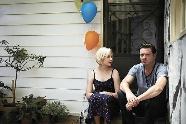 "Adelaide Clemens and Aden Young in ""Rectify."""
