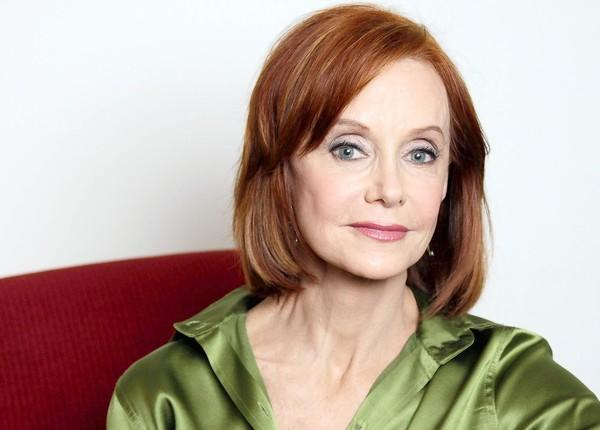 Swoosie Kurtz at Warner Bros. Studio in Burbank.