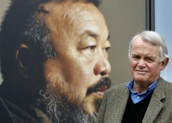Playwright Howard Brenton has written a new play about Chinese artist and activist Ai Weiwei. The stage production debuted this month in London.