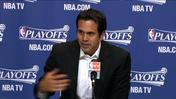 "<font color=""#990000""><b>Video:</b></font> Erik Spoelstra on Game 1"