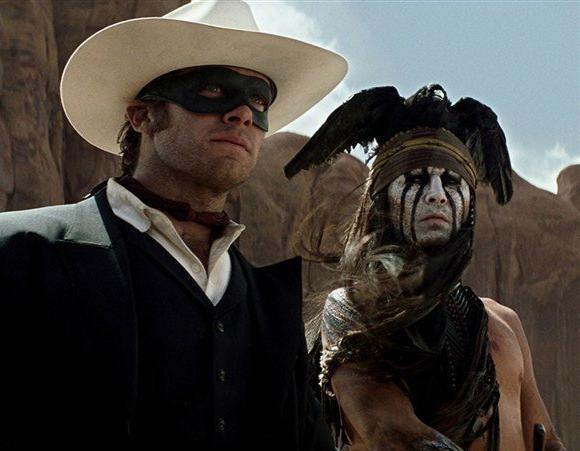 "Armie Hammer says Native Americans on the set of ""Lone Ranger"" loved Johnny Depp's portrayal of Tonto"