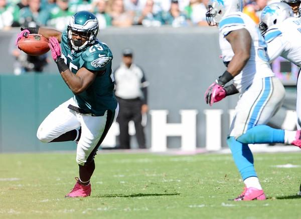 Eagles running back LeSean McCoy likened the team's new offense to a track meet.
