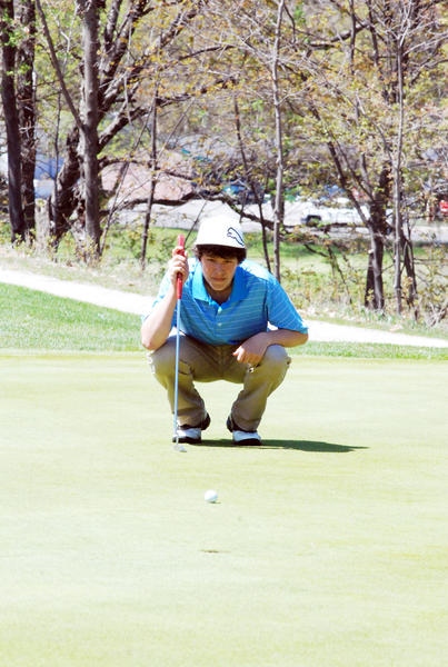 Petoskey senior Tyler Speigl will play college golf this fall at the University of St. Francis (Fort Wayne) after recently signing with the Cougars as part of an academic-athletic scholarship.