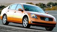 <strong>Q: My wife's 2004 Nissan Maxima has a sound coming from near the firewall or under the dash that sounds like water flowing back and forth when making sharp or fast turns. I've drained and pressure treated the radiator, checked the A/C drain and ran the heater at full blast. The sound goes away but eventually returns. Any ideas to the cause?</strong>