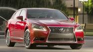 Handsome Lexus LS 460 can't keep up with its rivals