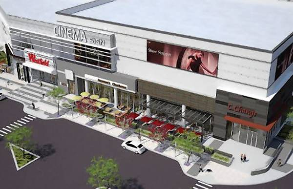 An expansion proposal for the Westfield Hawthorn Mall in Vernon Hills includes plans for a 12-screen AMC movie theater.