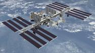 Spot the International Space Station moving across the night sky this week. Chances arise the next three nights, but the best viewing opportunity Wednesday is possible to coincide with rain and thunderstorms.