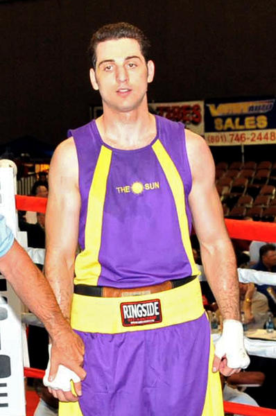 Tamerlan Tsarnaev waits for a decision in the 201-pound division boxing match during the 2009 Golden Gloves National Tournament of Champions May 4, 2009 in Salt Lake City, Utah.