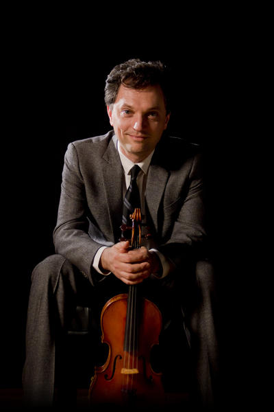 Photo provided Violinist Aaron Berofsky will be the guest soloist with the South Bend Symphony Orchestra on April 27, 2013, at the Morris Performing Arts Center for a performance of Beethoven's Concerto for Violin and Orchestra.