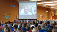 Hickory Creek students Skype with Holocaust Survivor